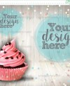Topper Mockup Party Favor Mockup Stock Photos Cupcakes Etsy