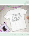 T Shirt Mockup Shirt Children T Shirt Mockup Wood Etsy