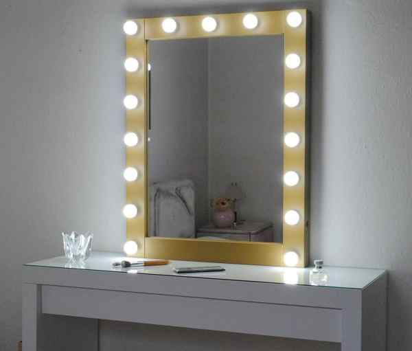 Hollywood Vanity Mirror With Lights-make