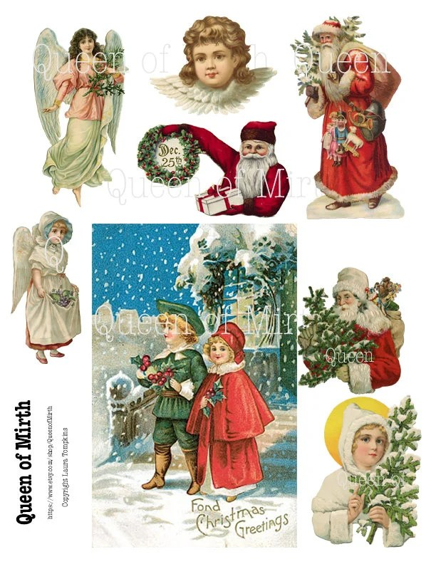Victorian Christmas Crafts For Kids