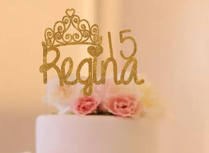 Quinceanera Cake Topper Etsy