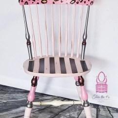 Pink Vanity Chair Flipping Chairs Vine Repurposed Etsy Image 0