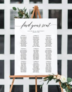 sizes wedding seating chart templateseating printableseating boardeditable posterwedding signpdf instant download also etsy rh