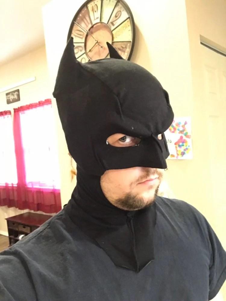 Batman Cowl Template : batman, template, Fabric, Batman, Template