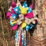 Bows For Wreaths Whimsical Spring Wreath Bow Spring Decor Spring Bows Spring Decorations Dragonfly Wreath Bow