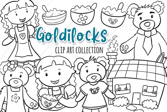 goldilocks and the three bears story book illustrations