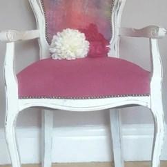Bedroom Chair Pink King Tut Etsy Louis French Carver Velvet