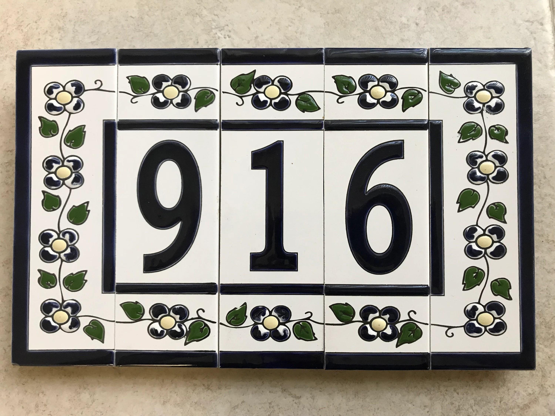 Vintage House Numbers