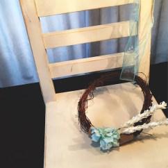 Hanging Chair Decor Gold Wedding Covers Pew Aqua Etsy Image 0