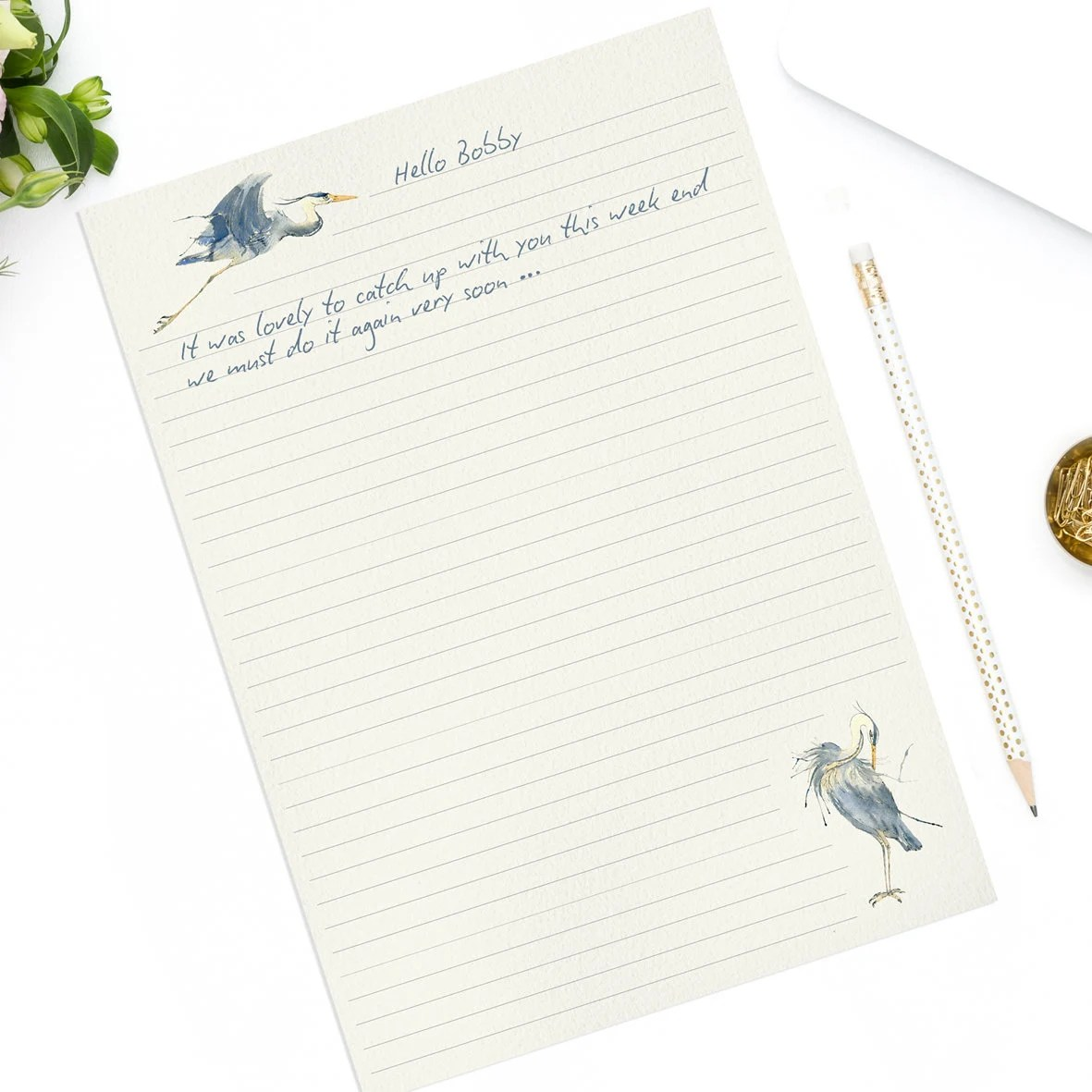 Printable A4 Lined Note Paper Instant Download A4 Planner