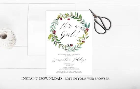 wreath template printable # 64