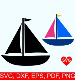 sailboat svg file sailing svg file for cricut sailboat clipart printable sail boat silhouette nautical svg clipart summer svg files [ 2000 x 2000 Pixel ]