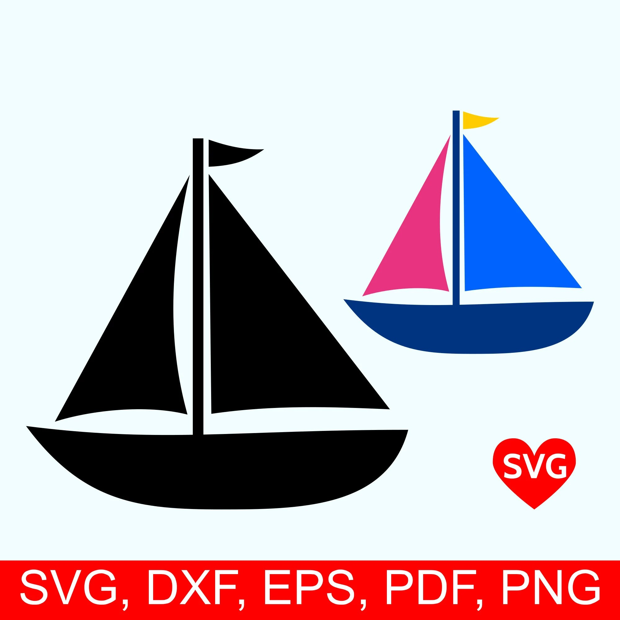 hight resolution of sailboat svg file sailing svg file for cricut sailboat clipart printable sail boat silhouette nautical svg clipart summer svg files