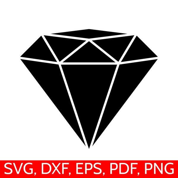diamond svg file clipart