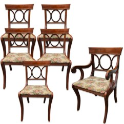 Tell City Chairs Pattern 4526 Pottery Barn Nursery Chair Reviews Etsy Set Of 6 Antique Co Mahogany Country Dining