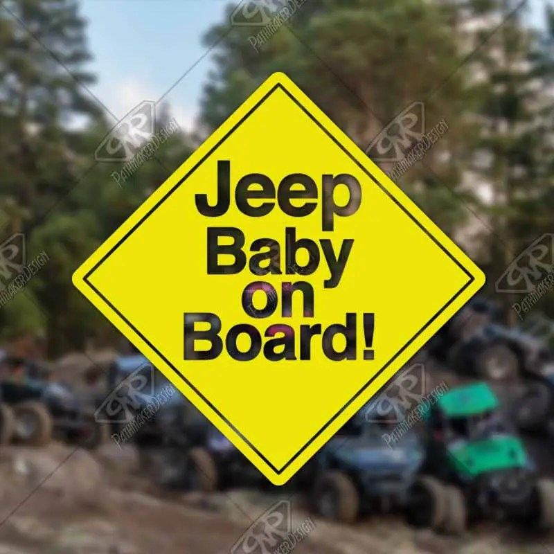 DECAL - [Jeep Baby on Boa...