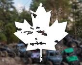 DECAL – [Maple Leaf] - ...