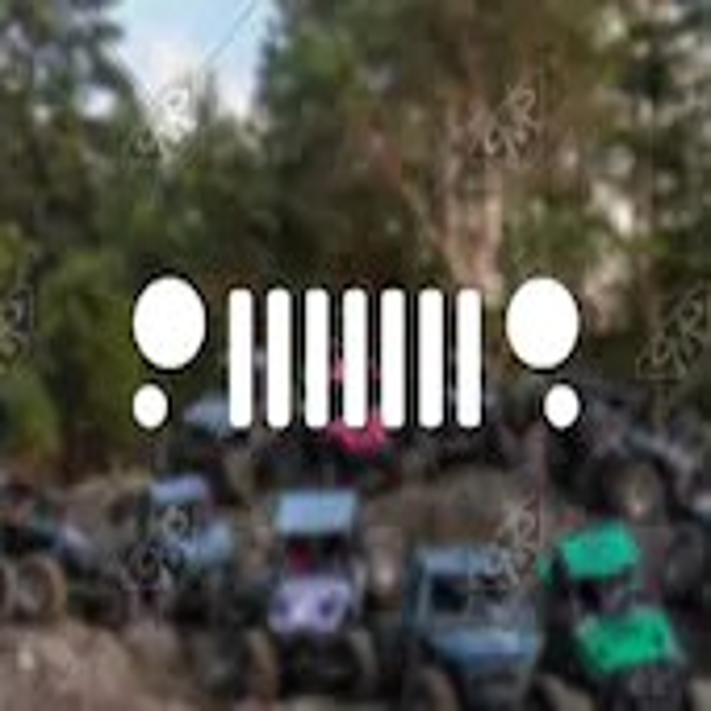 DECAL - [Jeep JK Grill v2...