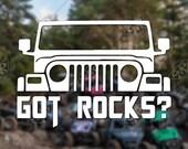 DECAL – [Got Rocks?] - ...