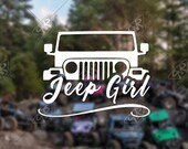 DECAL – [Jeep Girl - v2...