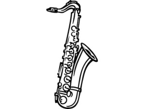 Afbeeldingsresultaat voor saxophone vector png