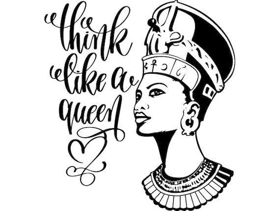 African American Queen Clipart