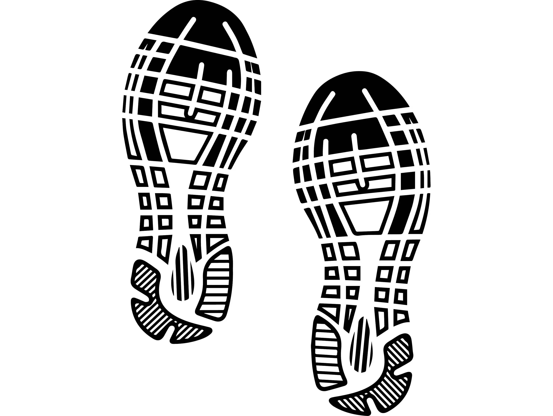Fu Abdruck Schuhe Sport Turnschuhe Schuh Boot Aufdruck
