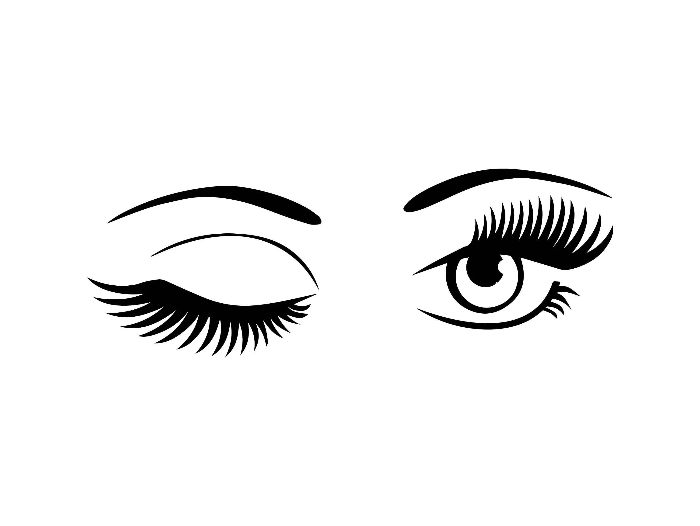 Eye Winking Vision Human Female Sign Eyeball See Watching
