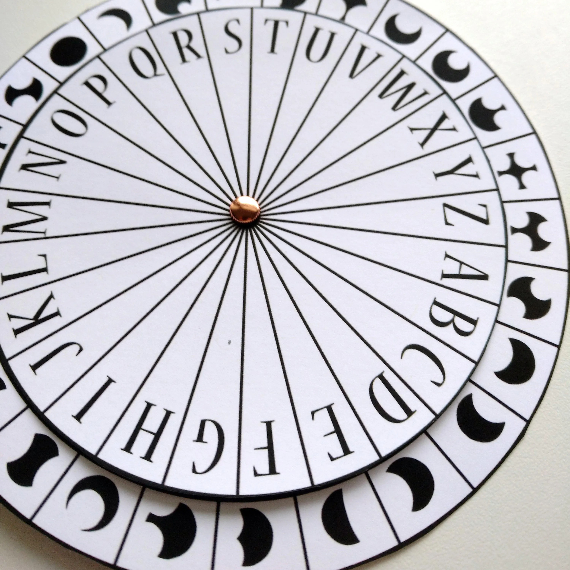 picture about Cipher Wheel Printable identify Caesar Cipher Decoder - Woonkamer decor ideeën - kafkasfan.club