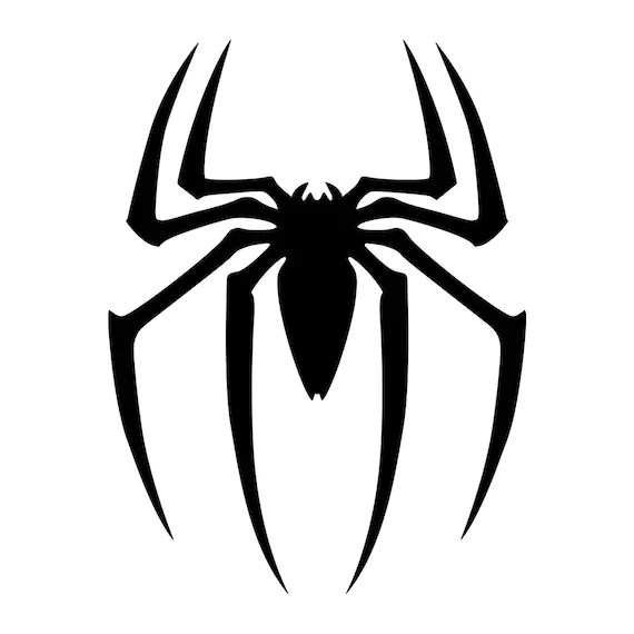 spiderman decal spiderman logo