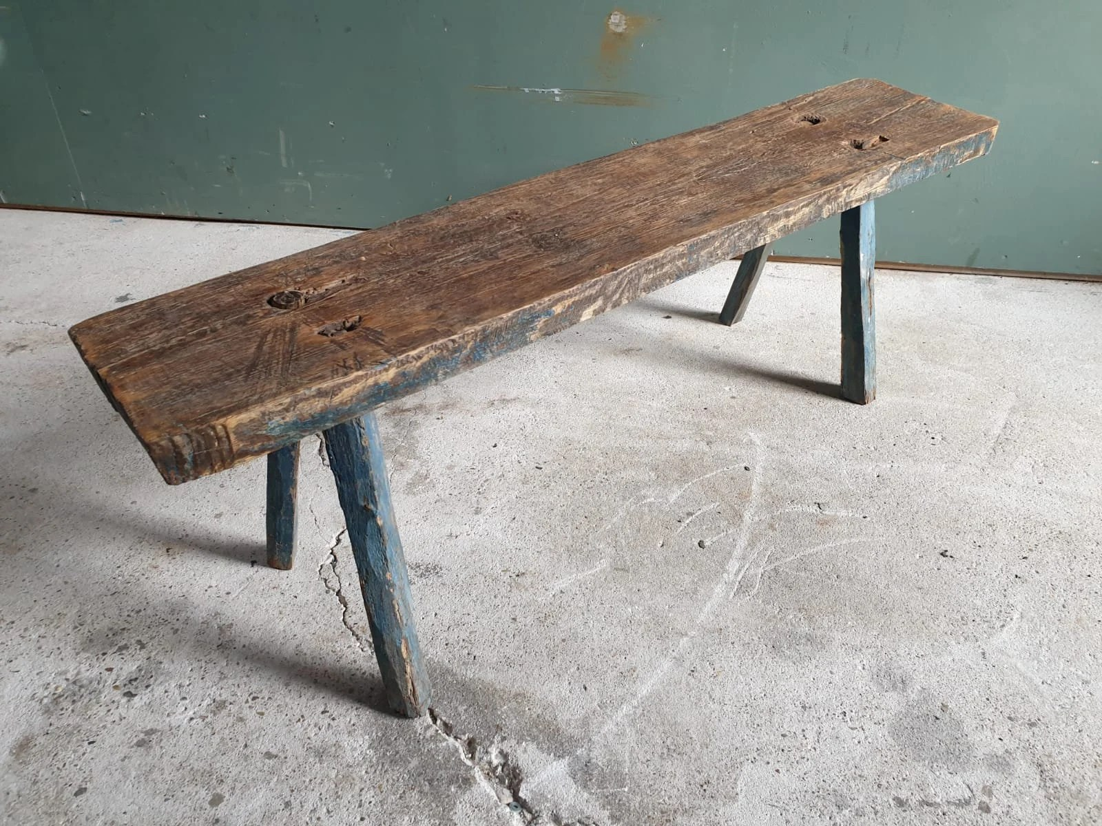 wooden bench etsy