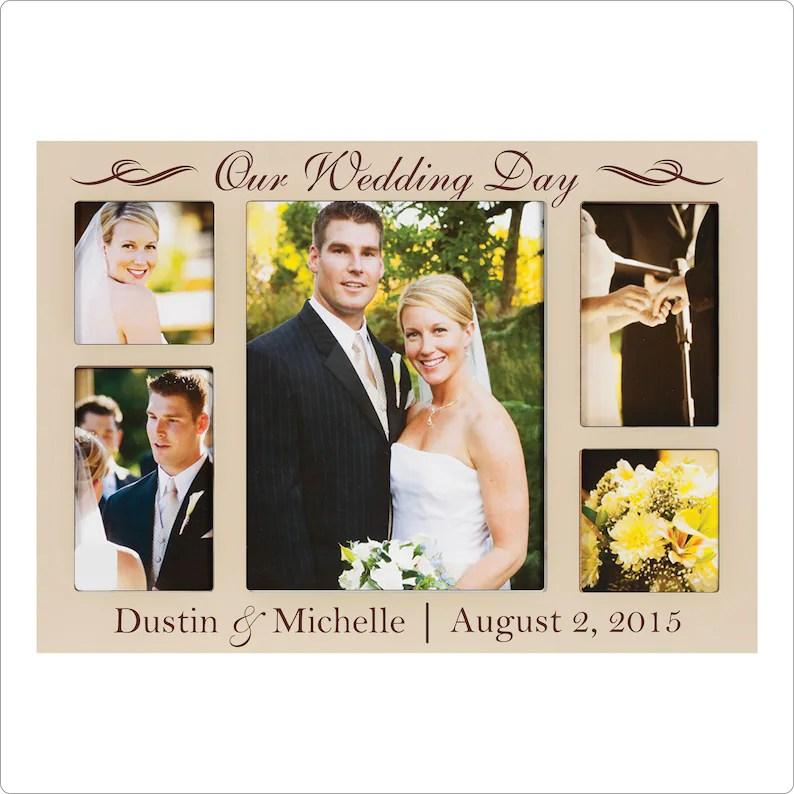 personalized wedding frame wedding