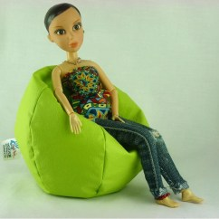 Barbie Bean Bag Chair Office Stand Price Etsy Armchair Spongy For Furniture Doll House 12