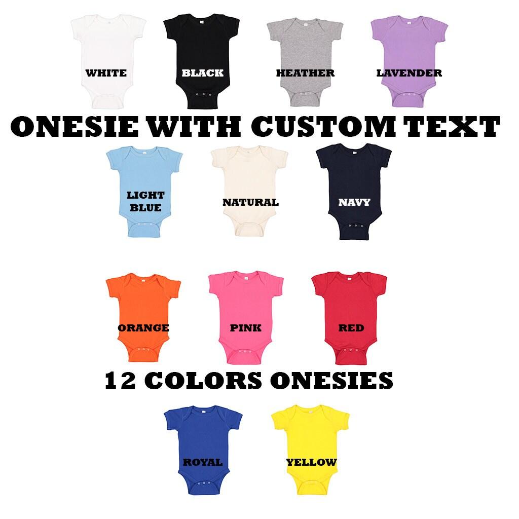 Custom Onesie  Personalized Onesie  Custom Baby Onesie  image 1