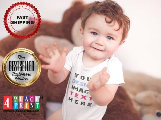 Custom Onesie  Personalized Onesie  Custom Baby Onesie  image 7