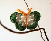 Crochet Pattern Butterfly Applique