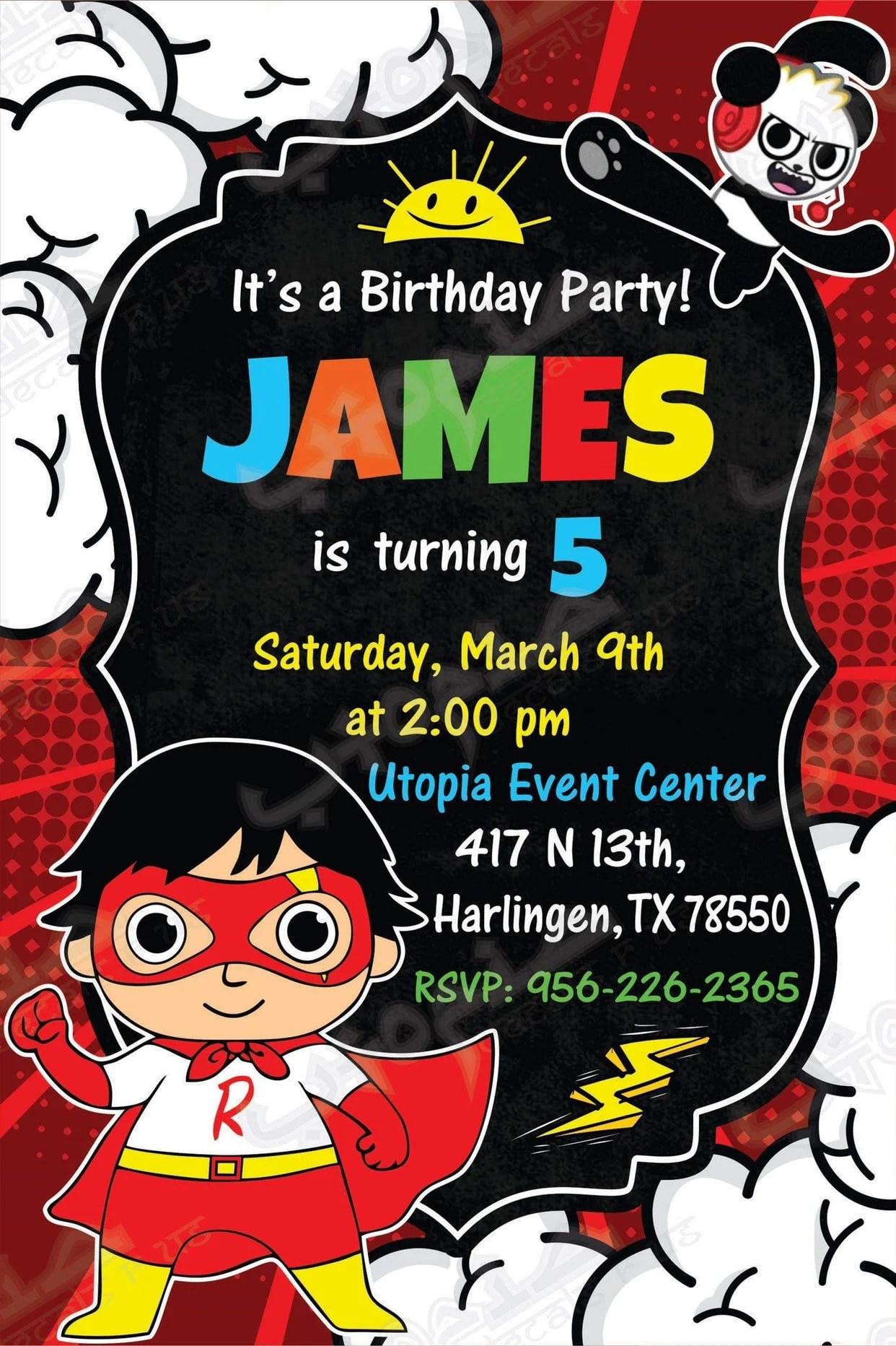 birthday invitations printed birthday invitation birthday party invitation