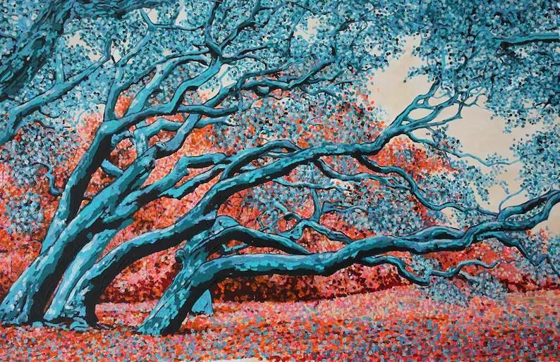 tree painting tree home