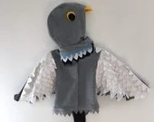 Pigeon Costume | Mo Willems, Halloween, Kids Dress Up, Fancy Dress, Personalised Gift, Handmade Costume, Bespoke, Montessori