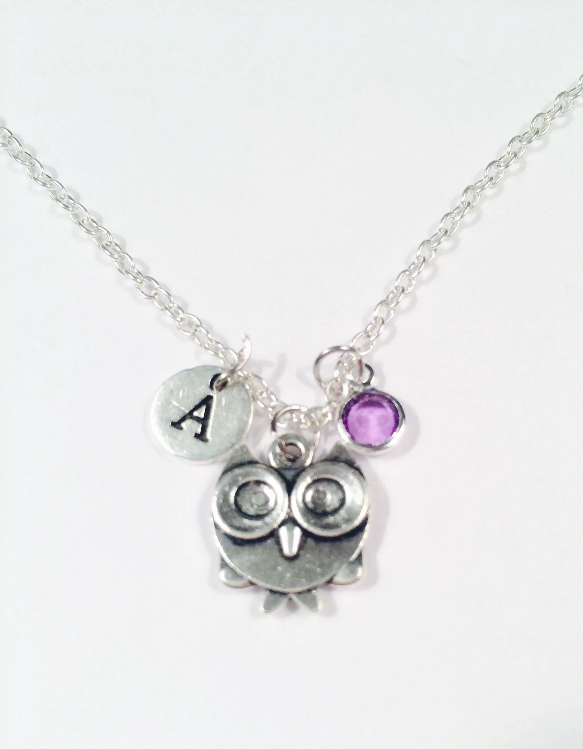 Owl necklace Graduation gift to friend Gift to smart