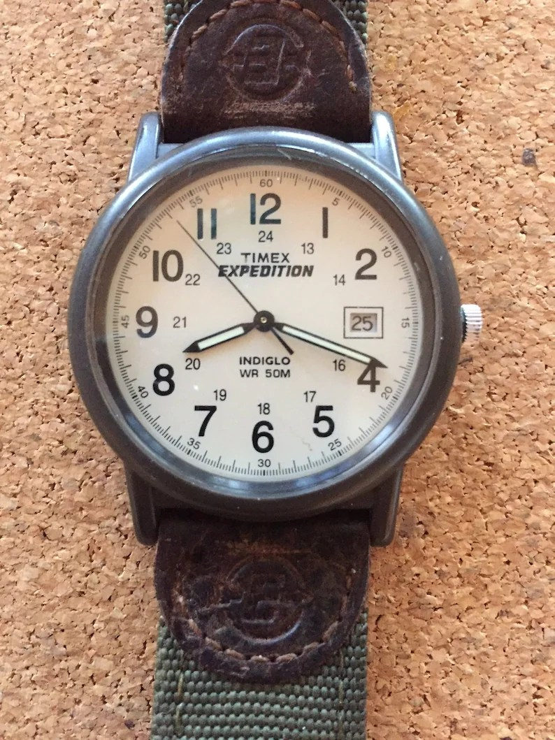 timex expedition mens indiglo