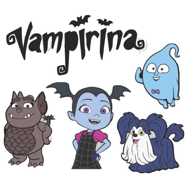 vampirina in clipart svg dxf cut