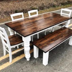 Pine Kitchen Table Cabinet For Sale Dining Etsy Chunky Leg Farm House Style And Room Free Delivery In Nc Or Va Contact Shipping Quotes