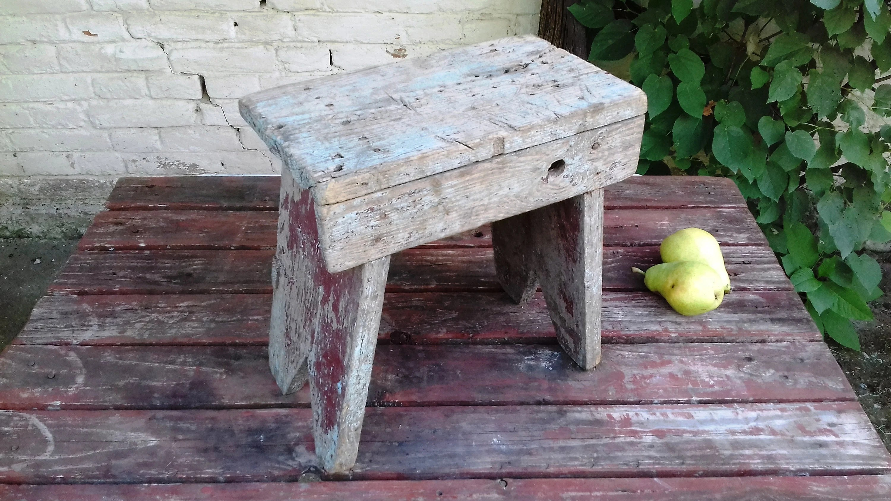 bench wooden bench antique