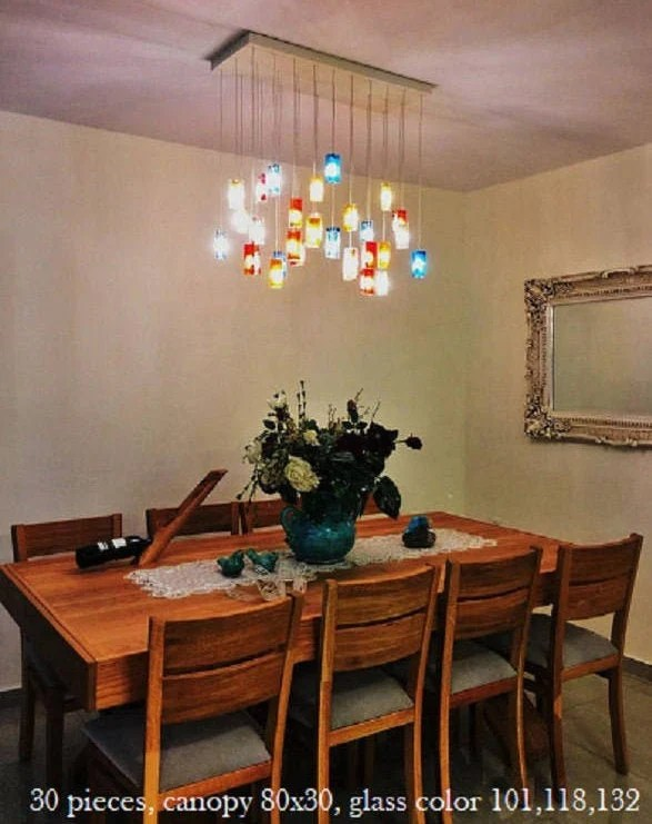 modern chandelier lighting dining room lighting with your etsy