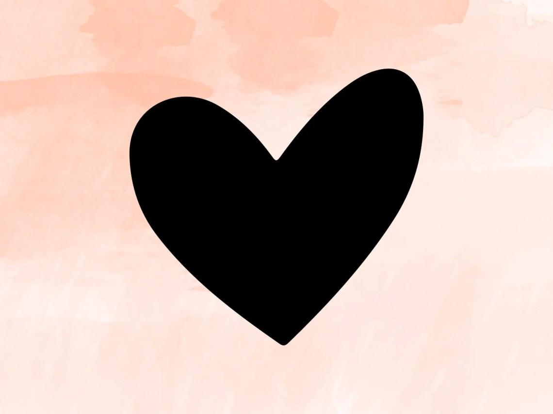 Download Heart SVG File Heart Cut File Heart Cricut Love Svg File ...