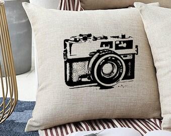 screen print pillow etsy