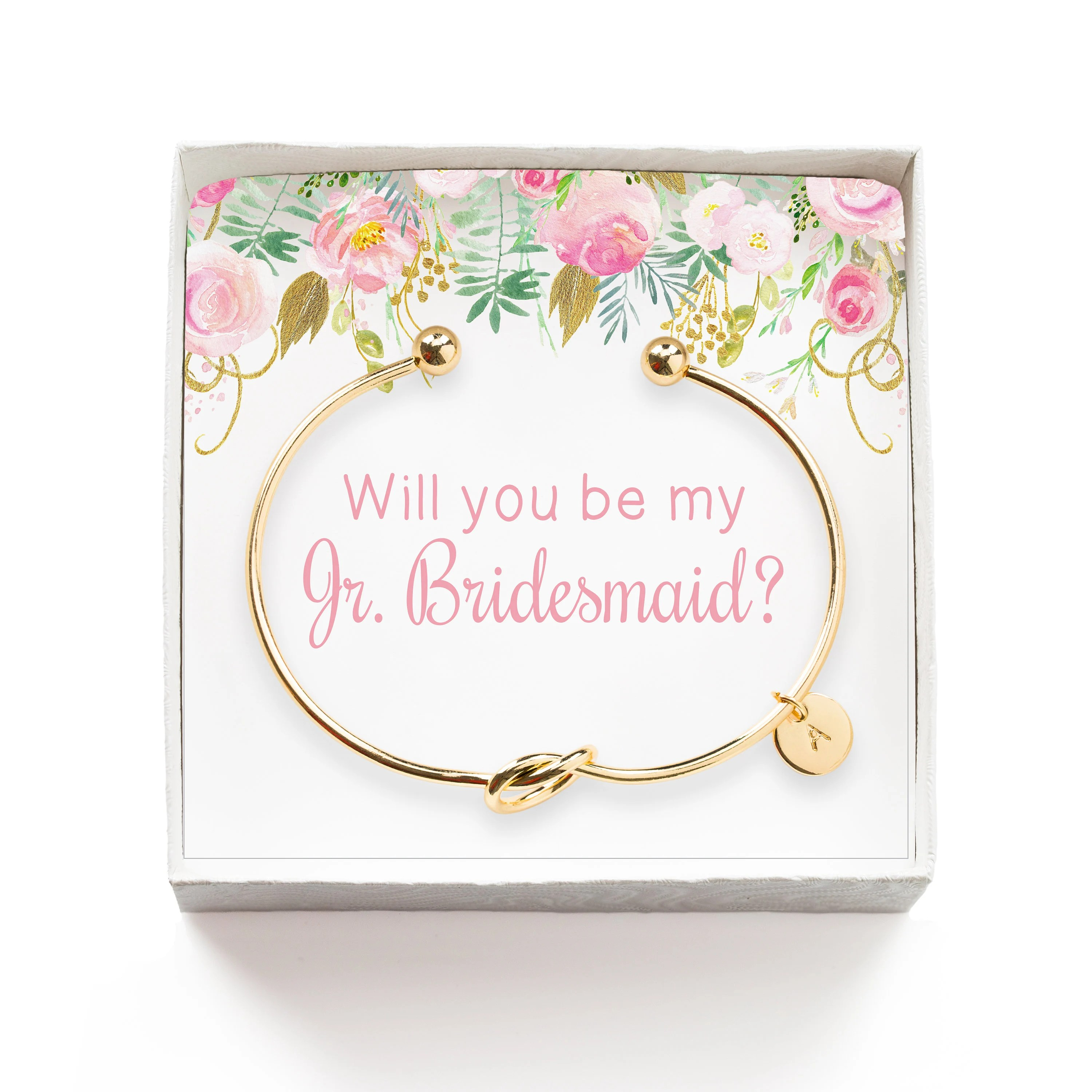 Will You Be My Junior Bridesmaid Gift, Personalized Jr