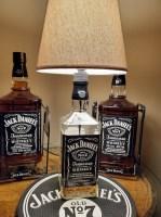 Lampe Jack Daniels Grande lampe bouteille de 175 litre. 21 ...