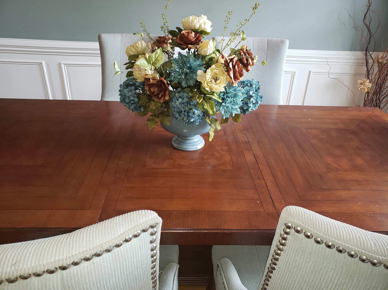 large table centerpiece large flower